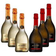 Kit Espumante Jp Chenet 750ml 03 Demi sec 03 Brut