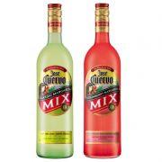 Kit Margarita Mix Jose Cuervo Limão + Morango 1 Lt