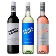 Kit Vinhos Pouca Roupa Tinto + Branco + Rosé 750ml