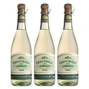 Lambrusco Frisante Cavicchioli Branco 750ml 03 Unidades