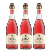 Lambrusco Frisante Dell emilia Cella Rose 750ml 03 Unidades