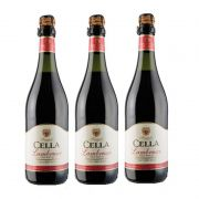 Lambrusco Frisante Dell emilia Cella Tinto 750ml 03 Unidades