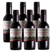 Mini Vinho Vistaña Santa Carolina Cabern. Merlot 187ml 06 Un