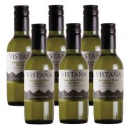 Mini Vinho Vistaña Santa Carolina Sauvignon Blanc 187ml 06 Unid.
