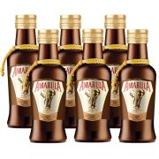 Miniatura Mini Licor Amarula 50ml 06 Unidades
