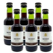 Miniatura Mini Vinho Do Porto Messias Tawny 50ml 06 Unidades