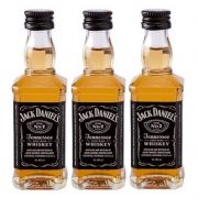 Miniatura Mini Whisky Jack Daniel's 50ml 03 Unidades