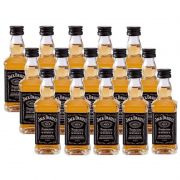 Miniatura Mini Whisky Jack Daniel's 50ml 15 Unidades