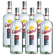 Pisco Capel Reservado 750ml 06 Unidades
