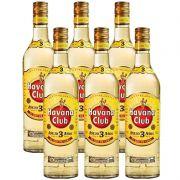 Rum Havana Club Anejo 3 Anos 750ml 06 Unidades