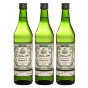 Vermouth Vermute Dolin Dry 750ml 03 Unidades