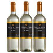 Vinho Bodega Vieja Suave 750ml 03 Unidades