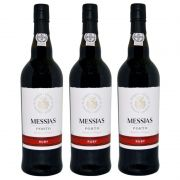 Vinho Do Porto Messias Ruby 750ml 03 Unidades