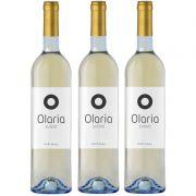 Vinho Português Olaria Branco Suave 750ml 03 Unidades