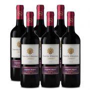 Vinho Santa Helena Reservado Cabernet - Merlot 750ml 06 Unid