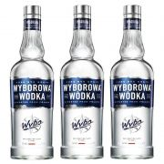 Vodka Wyborowa 750ml 03 Unidades