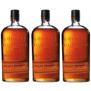 Whisky Bulleit Bourbon 750ml 03 Unidades
