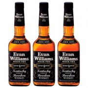 Whisky Evan Williams Kentucky Straight Bourbon 1 Lt 03 Unid.