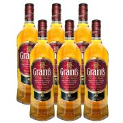 Whisky Grants Family Reserve 750ml 06 Unidades