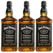 Whisky Jack Daniel's Tennessee 1 Litro 03 Unidades