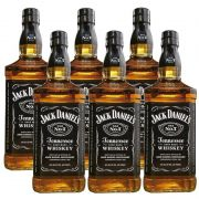 Whisky Jack Daniel's Tennessee 1 Litro 06 Unidades