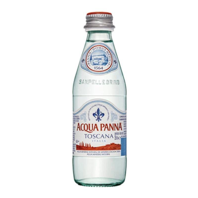 Água Mineral Acqua Panna Toscana Sem Gás 250ml 06 Unidades