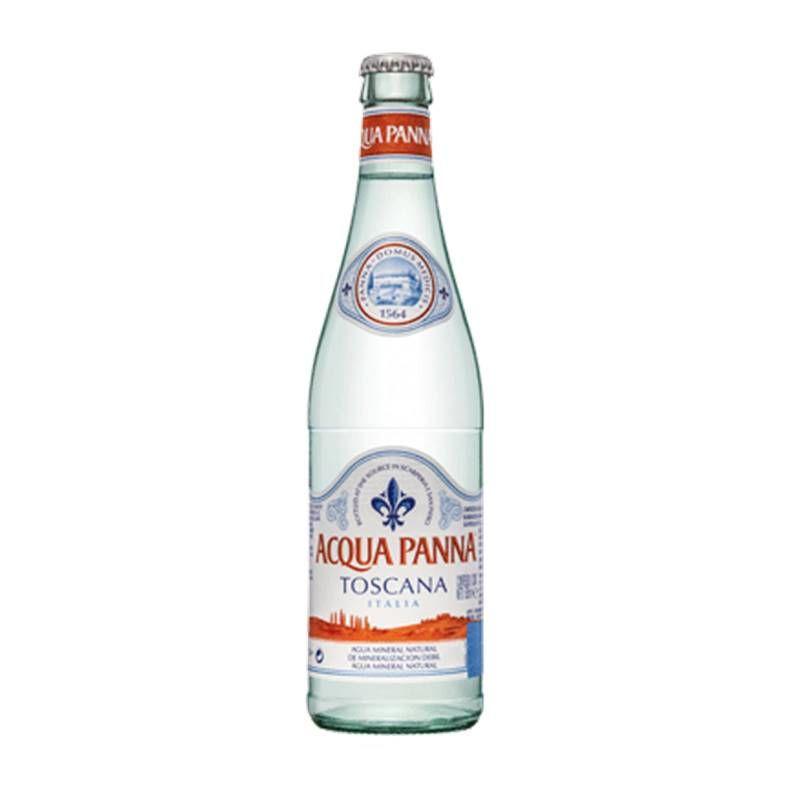 Água Mineral Acqua Panna Toscana Sem Gás 505ml 06 Unidades