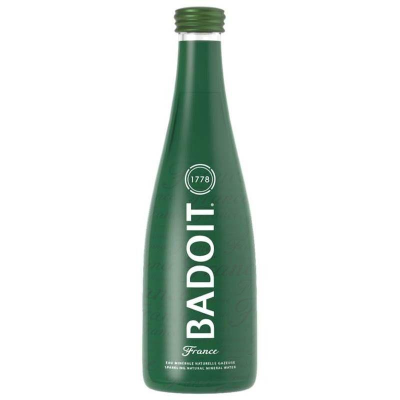 Água Mineral Badoit Com Gás 330ml