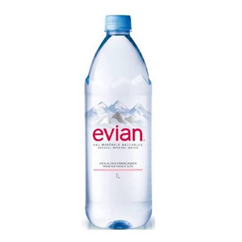 Água Mineral Evian Sem Gás 1 Lt
