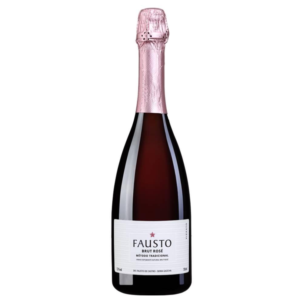 Espumante Fausto de Pizzato Brut Rosé 750ml