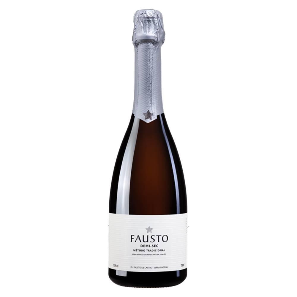 Espumante Fausto de Pizzato Demi-sec 750ml