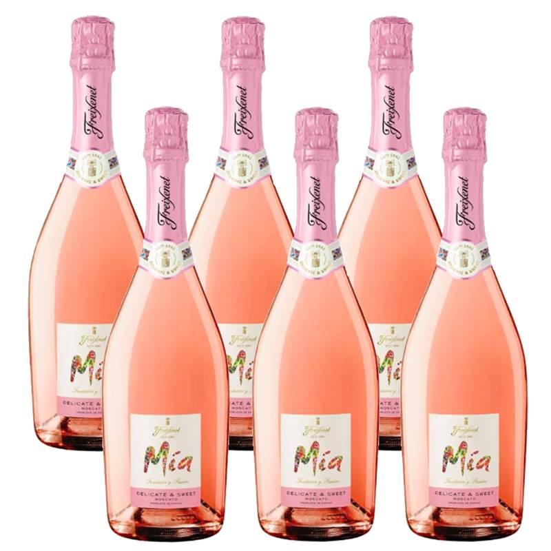 Espumante Freixenet Mia Delicate e Sweet Rosé 750ml 06 Unid.
