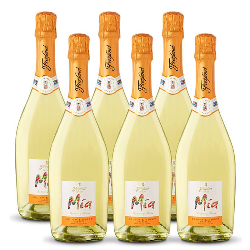 Espumante Freixenet Mia Fruity E Sweet 750ml 06 Unidades