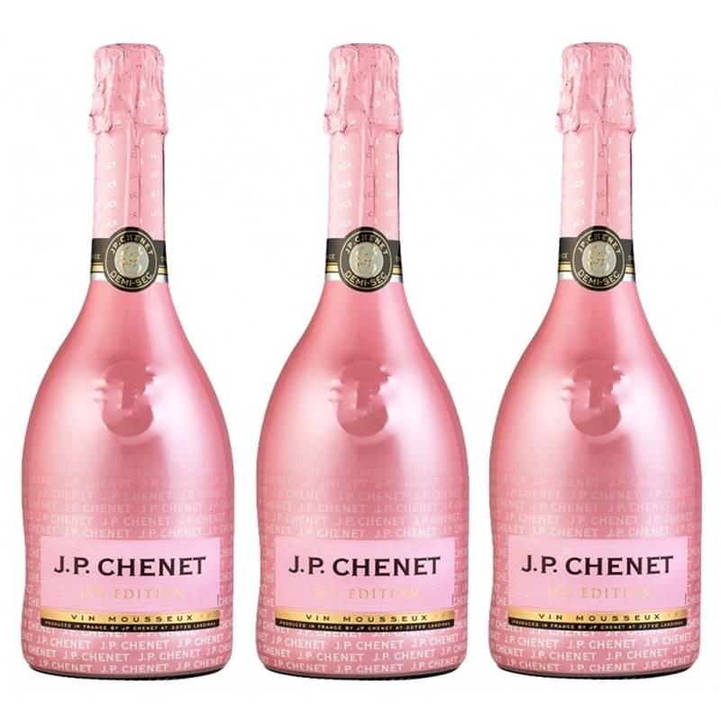 Espumante Jp Chenet Ice Edition Rose 750ml 03 Unidades