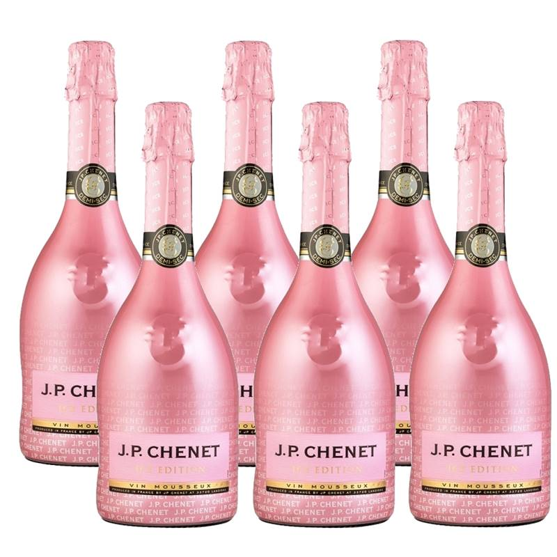 Espumante Jp Chenet Ice Edition Rose 750ml 06 Unidades