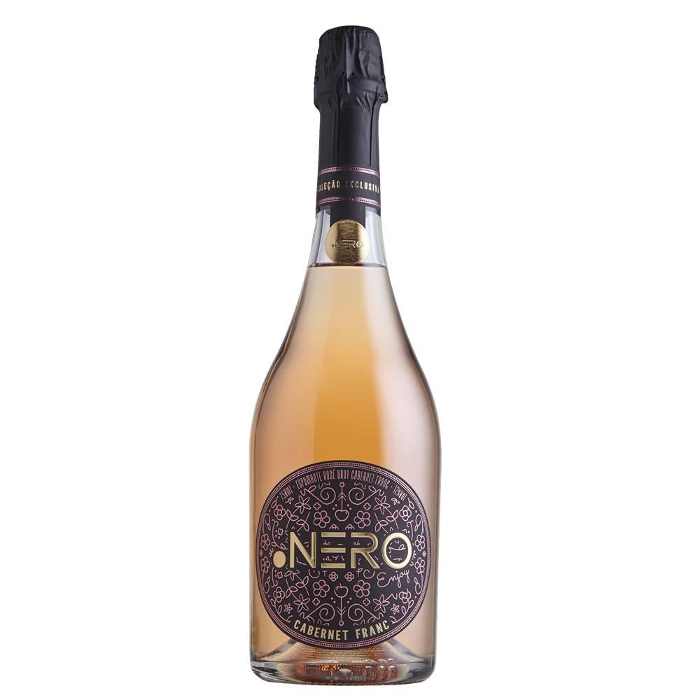 Espumante Ponto Nero Enjoy Cabernet Franc Brut Rosé 750ml