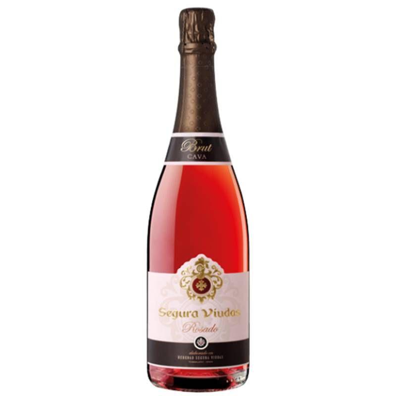 Espumante Segura Viudas Rosado Rosé Brut 750ml 06 Unidades