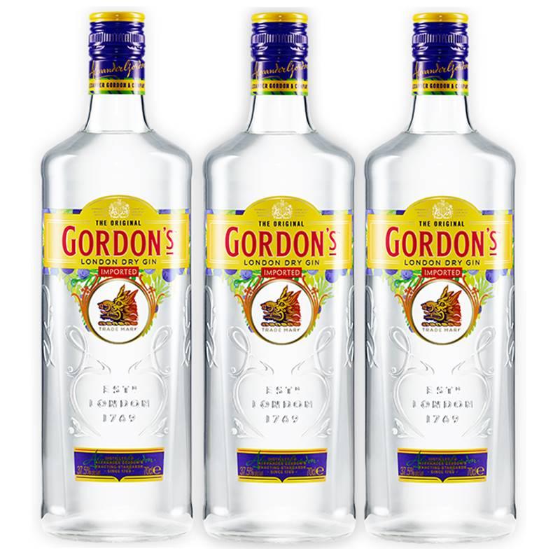 Gin Gordon's 750ml 03 Unidades