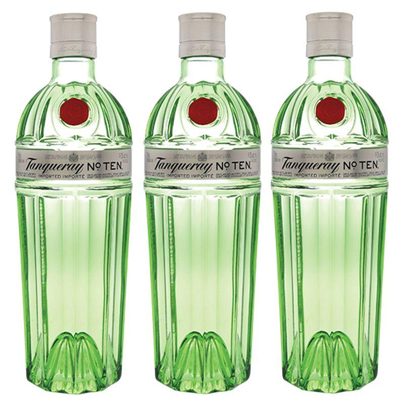 Gin Tanqueray No. Ten 750ml 03 Unidades