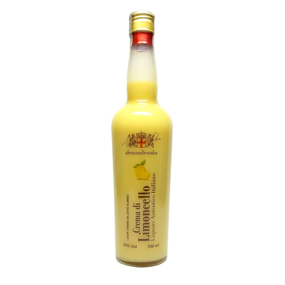 Kit 03 Un. Licor Alessandrosaba Crema di Limoncello 700ml
