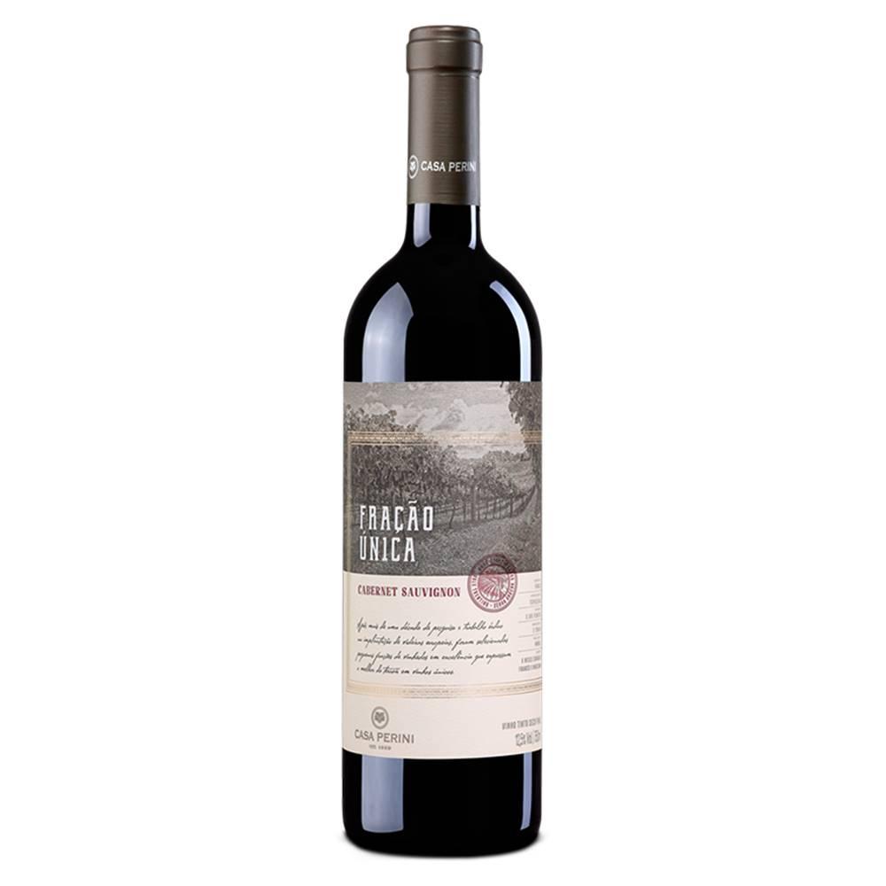 Kit 03 Un. Vinho Casa Perini Fração Única Caber. Sauv. 750ml