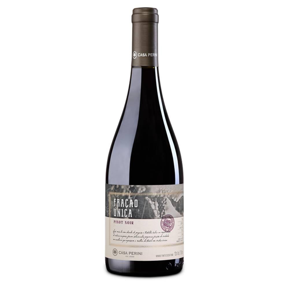 Kit 03 Un. Vinho Casa Perini Fração Única Pinot Noir 750ml