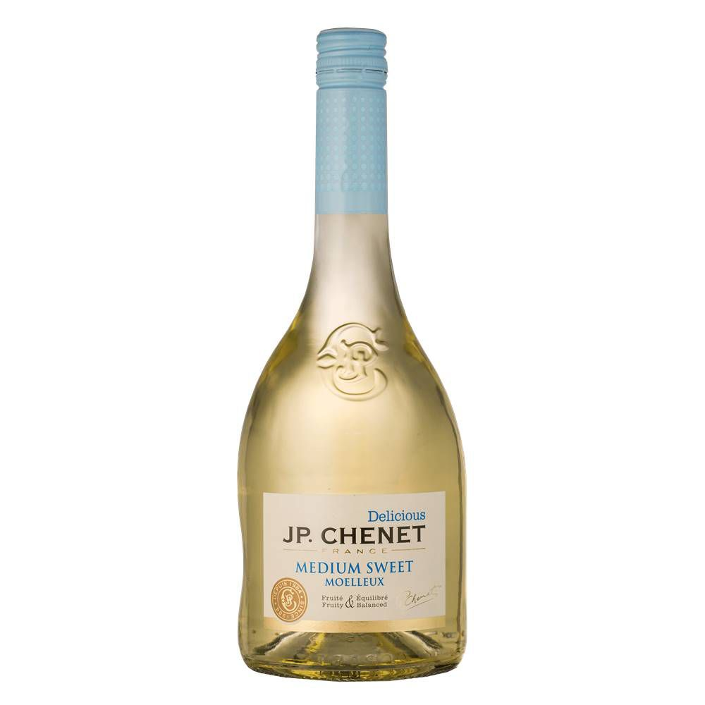 Kit 03 Un. Vinho JP Chenet Delicious Branco Suave IGP 750ml