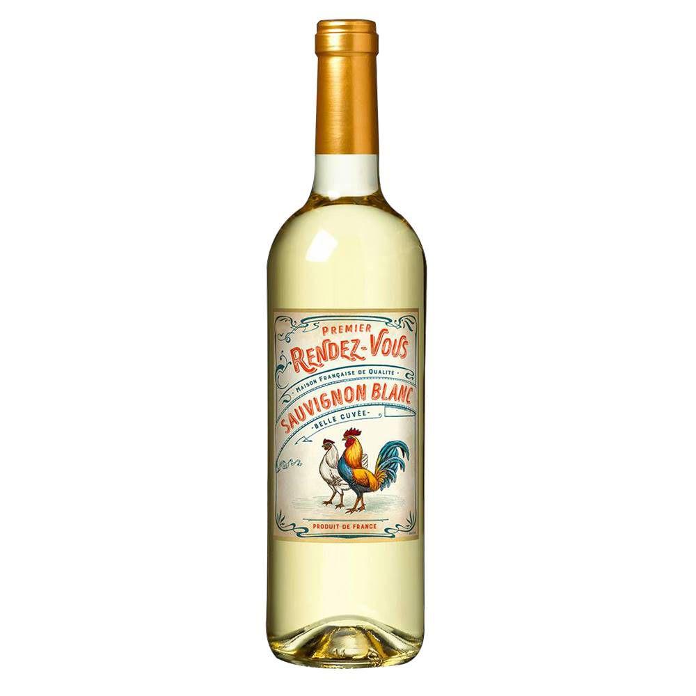 Kit 03 Un. Vinho Premier Rendez-Vous Sauvignon Blanc 750ml