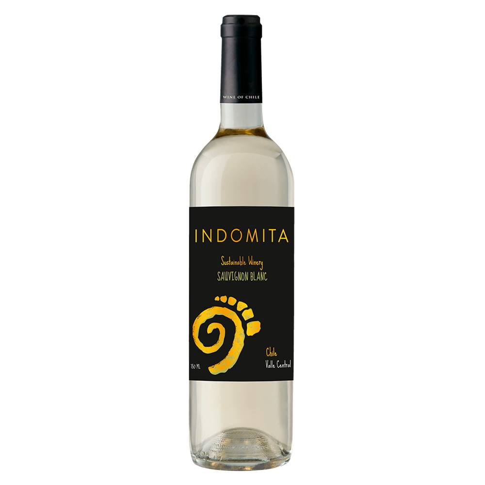 Kit 03 Unid. Vinho Indomita Varietal Sauvignon Blanc 750ml