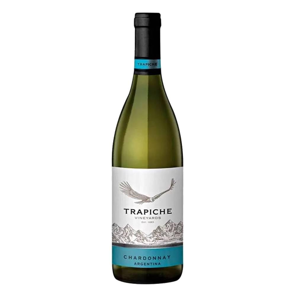 Kit 03 Unid. Vinho Trapiche Vineyards Chardonnay 750ml