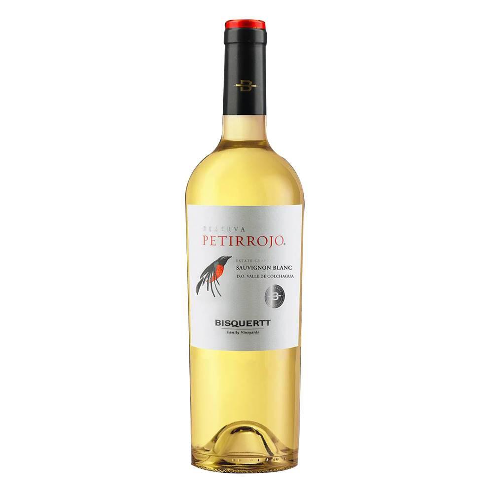 Kit 03 Unidad. Vinho Petirrojo Reserva Sauvignon Blanc 750ml