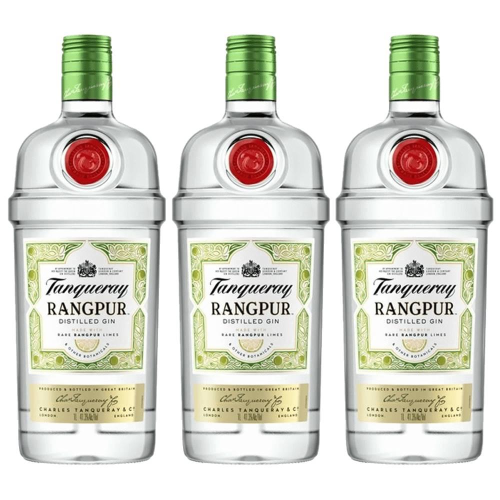 Kit 03 Unidades Gin Tanqueray Rangpur 700ml