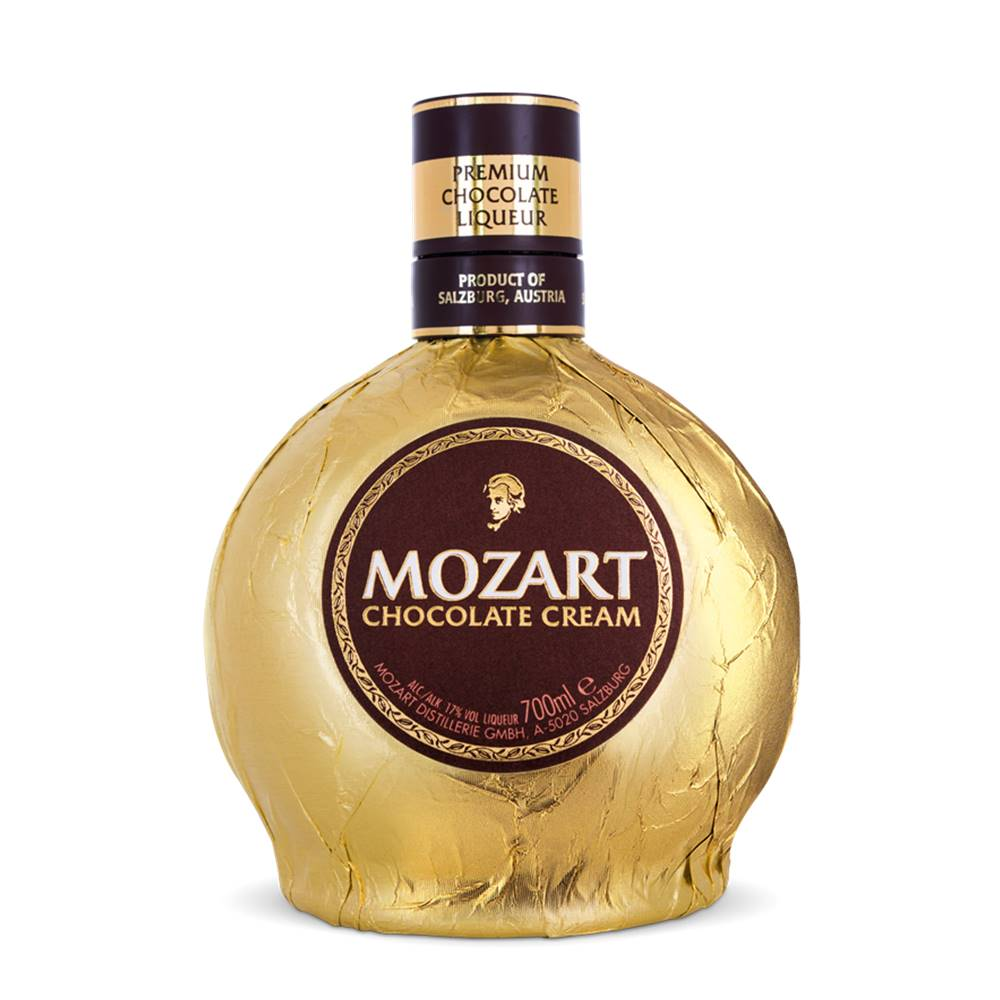 Kit 03 Unidades Licor Mozart Chocolate Cream 700ml