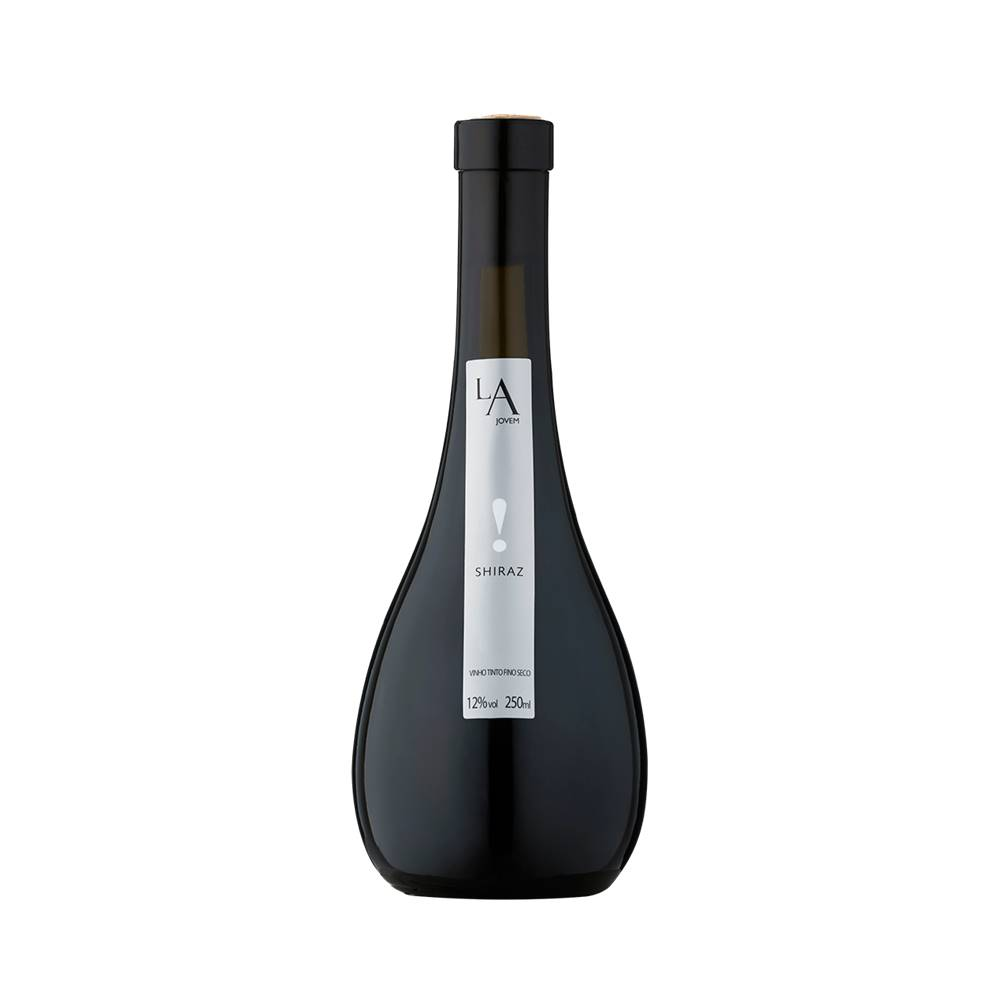 Kit 03 Unidades Mini Vinho Luiz Argenta Jovem Shiraz 250ml